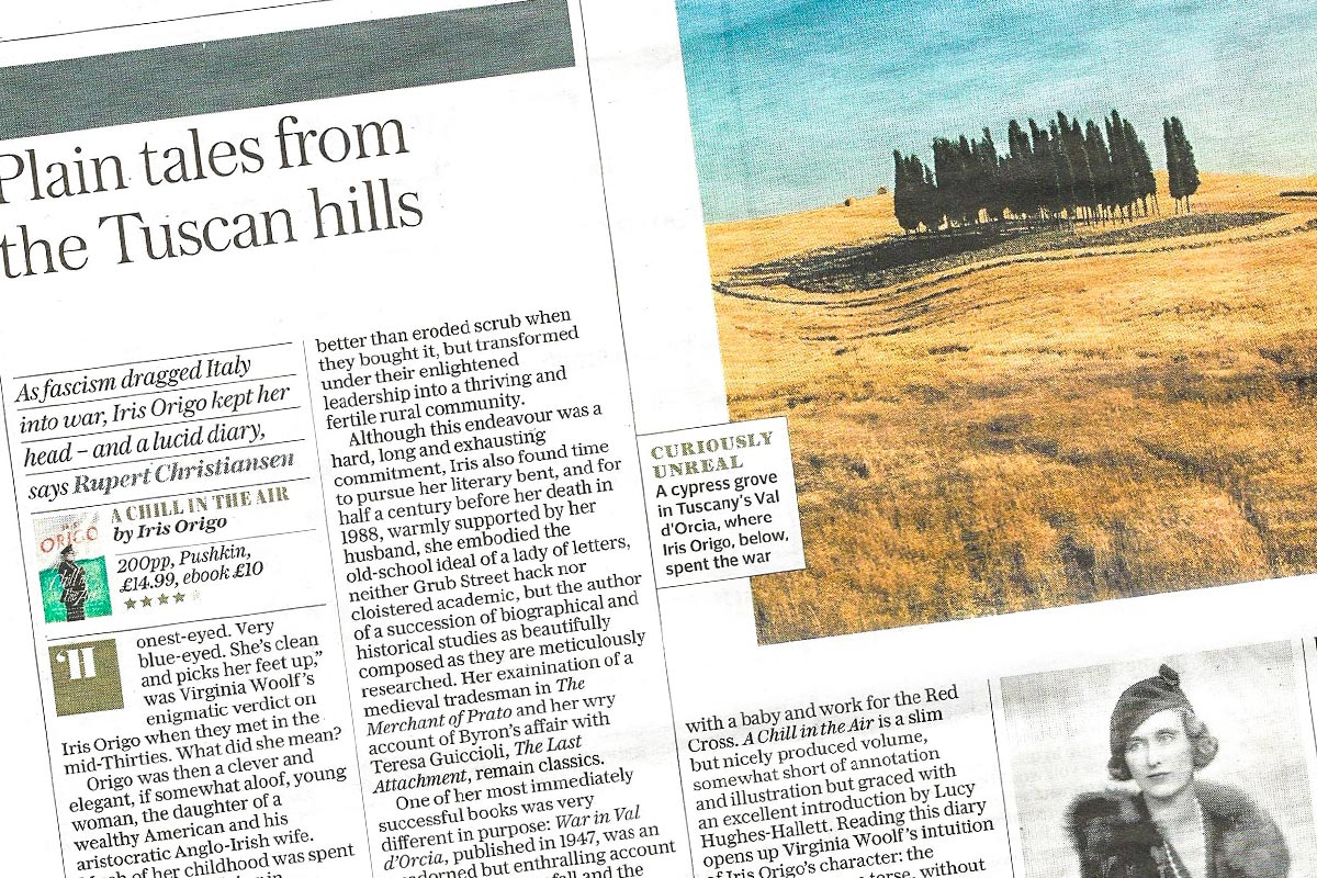 The Daily Telegraph - Plain tales from the Tuscan hills